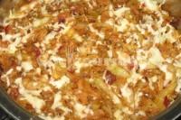 Captura de Repolho com molho shoyu e queijo