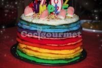 Captura de Bolo arco-íris