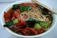 Captura de Sopa de verduras com miojo