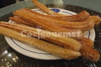 Captura de Churros assados