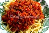 Captura de Espaguete à bolonhesa