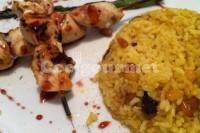 Captura de Arroz com curry