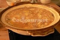 Captura de Sopa de verduras com aletria