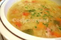 Captura de Sopa de verduras com queijo