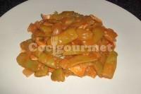 Captura de Vagem com molho de tomate