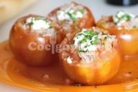 Captura de Tomates recheados com alho