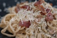 Captura de Espaguete à carbonara
