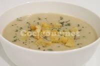 Captura de Sopa de verduras com dadinhos de pão frito