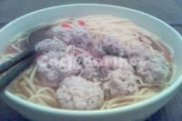 Captura de Sopa de verduras com almôndegas