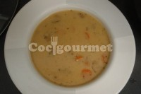 Captura de Sopa de omelete e cenoura