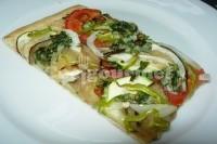 Captura de Cuca salgada de verduras assadas