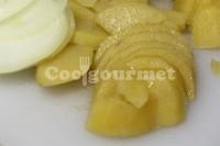 Captura de Lasanha de batata e alho poró