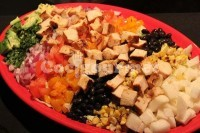 Captura de Salada de frango mexicana