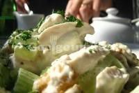 Captura de Salada de frango assada