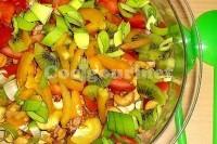 Captura de Salada de frutas e verduras