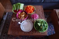 Captura de Canapés vegetais