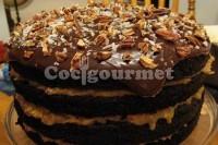 Captura de Bolo de chocolate com nozes