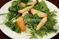 Captura de Salada de rúcula com pera assada