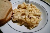 Captura de Macarrão com molho de queijo azul