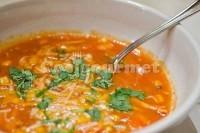 Captura de Sopa de frango com tomate