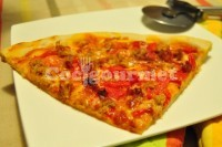 Captura de Pizza com massa caseira