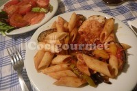 Captura de Salada com macarrão