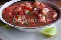 Captura de Ceviche de peixe e camarão