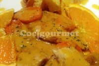 Captura de Peito de frango com laranja
