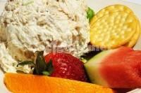 Captura de Salada com frango e morango