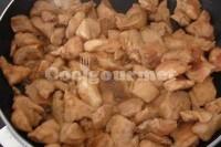 Captura de Peito de frango ao alho e óleo