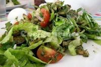 Captura de Salada de frango ao molho pesto