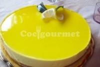 Captura de Torta de queijo com limão e leite condensado