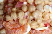 Captura de Salada de grão de bico com tomate