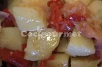Captura de Salada de batata com peixe defumado