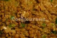 Captura de Lentilhas com arroz