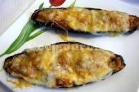Captura de Berinjelas recheadas com atum e queijo