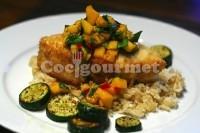 Captura de Peixe frito com verduras