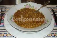 Captura de Lentilhas com fígado de bacalhau