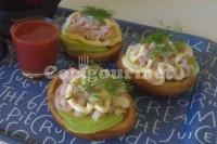 Captura de Tortinhas de camarão com abacate
