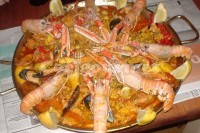 Captura de Paella com marisco