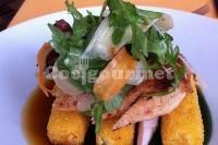 Captura de Salada de frango crocante