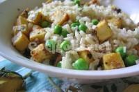 Captura de Arroz com verduras e grão de bico