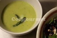 Captura de Sopa de aspargos com camarão