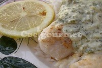 Captura de Merluza com molho branco