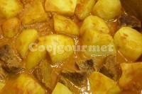 Captura de Carne ensopada com batata