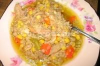 Captura de Sopa de galinha caipira