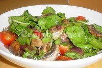Captura de Salada de verduras assadas