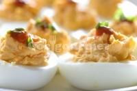 Captura de Ovos recheados de champignon