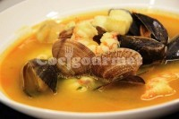 Captura de Sopa de peixe e frutos do mar