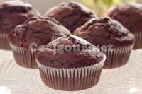 Captura de Cup cake de chocolate
